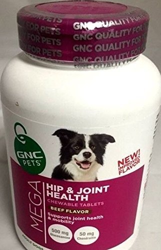 gnc-pets-big-bottle-mega-hip-and-joint-health-180-chewable-tablets-beef-flavor-supports-joint-health