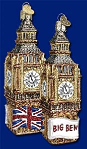 Old World Christmas Ornament Big Ben