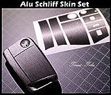 Anthrazit Alu Schliff Folie Dekor Schl�ssel VW Golf 7 MK7 / Skoda Octavia II RS