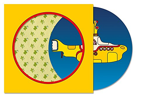 CD : The Beatles - Yellow Submarine (Picture Disc Vinyl LP, Limited Edition)