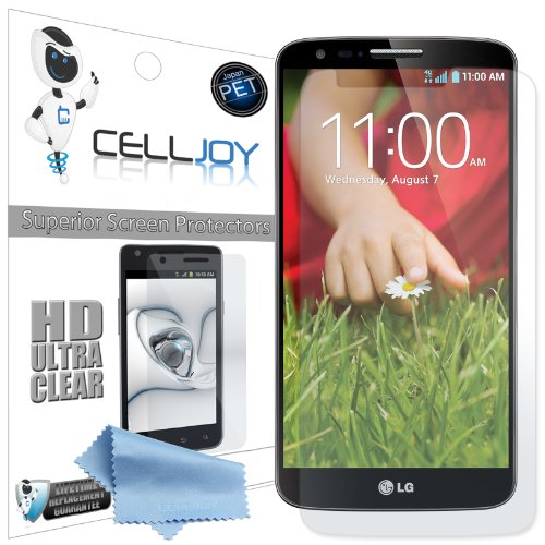 Celljoy Lg Optimus G2 / Lg G2 / Gii Premium High Definition (Hd) Ultra Clear (Invisible) Screen Protectors With Lifetime Replacement Warranty [5-Pack] - Retail Packaging