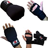 AQF GEL Hand Wraps Grappling Gloves MMA UFC Boxing Cage Fight Neoprene from AQF