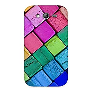 Stylish Block Colors Print Back Case Cover for Galaxy Grand Neo Plus