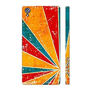 Enthopia Designer Hardshell Case Trimbow Back Cover for Sony Xperia Z4