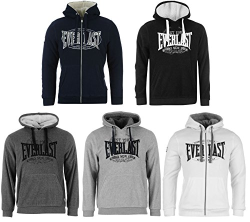 Everlast -  Felpa  - Uomo Charcoal Pullover small