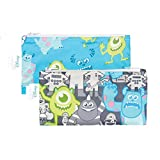 Bumkins Disney Baby Reusable Snack Bag, Monsters, Small, 2 Count by Disney