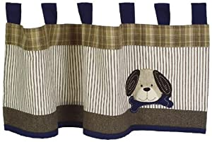 Sumersault Show Doggies Valance, Brown