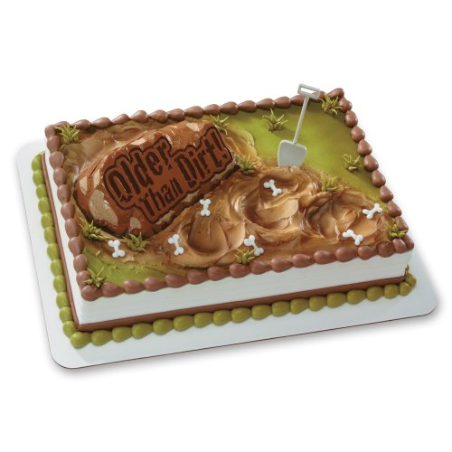 Decopac Older Than Dirt Photo DecoSet Cake Topper
