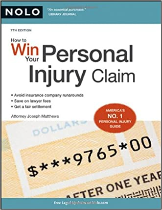 How to Win Your Personal Injury Claim written by Joseph Matthews Attorney