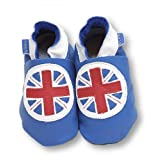 Inch Blue Brittania Soft Shoes, Soft shoes, Baby boy, 6-12 monthsby Inch Blue