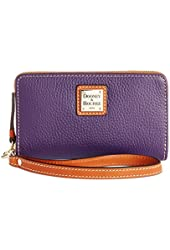 Dooney & Bourke Womens Zip Around Carryall Wristlet