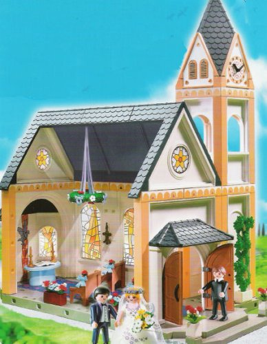 Wedding 4296: Church with Bells - Playmobil
