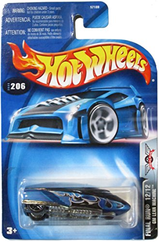 Final Run Series -#12 GM Lean Machine Collectibles Collector Car #2003-206 Hot Wheels 1:64 Scale - 1