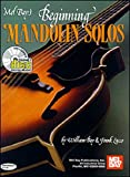 Mel Bay Beginning Mandolin Solos (0786629355) by William Bay