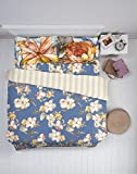 Spaces Courtyard Cotton Double Comforter - Blue
