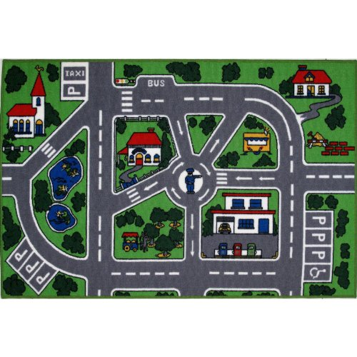 City Streets Area Rug 19