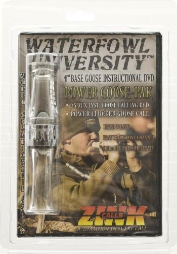 Zink Calls Power Clucker Goose Call and DVD
