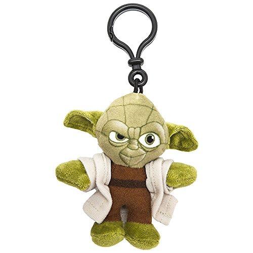 Star Wars Episode Vii Peluche Portachiavi Yoda 8 Cm