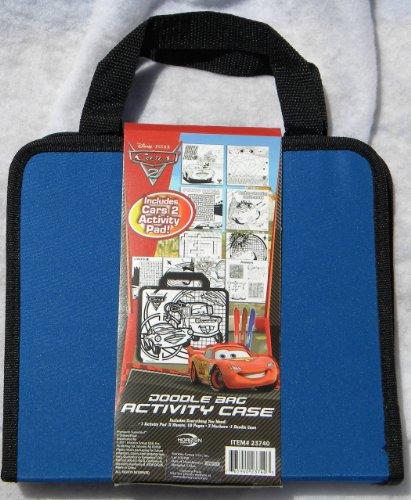 Cars 2 Doodle Bag Activity Case - 1