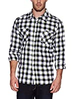 Urban Classic Camisa Hombre (Verde Oscuro)