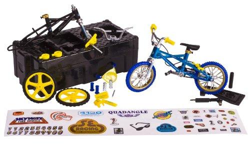 Imagen 3 de Flick Trix 6014025 Bike Shop - Bicicleta en miniatura con piezas de sustitución [Importado de Alemania]