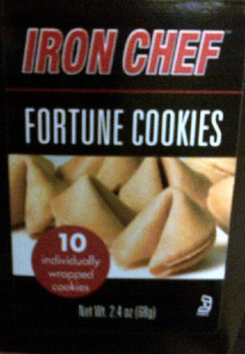 Iron Chef Fortune Cookies 2.4oz