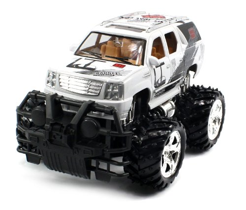 Big Size Rechargeable Electric Full Function 1:16 Gallop Auto Cadillac Escalade Rtr Rc Truck (Colors May Vary) Remote Control Monster Truck!