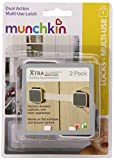 Munchkin XTRAGUARD 2 Count Dual Action Multi Use Latches