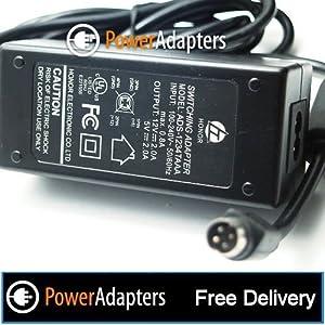 12v 2a 5v 2a 4 pin mains power adapter for Hard drives Honor - ADS - 1235TAAA