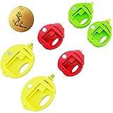 Rimobul Food Storage Fruit Pattern Bag Clips Round Sealer, Set of 6