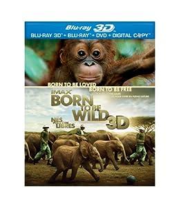 IMAX Born to Be Wild [Blu-ray 3D + Blu-ray + DVD] (Bilingual)