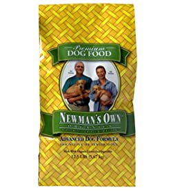 worry wart dog Newman's Own Organics Adult Dog Food Formula