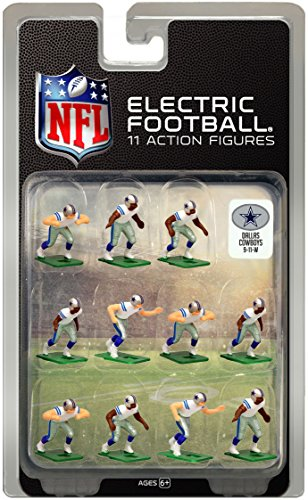 Dallas Cowboys White Uniform NFL Action Figure Set