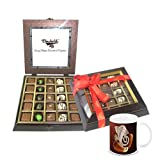 Chocholik Belgium Gifts - Exotic Flavours Of Chocolates & Diwali Special Coffee Mug - Gifts For Diwali