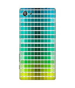Colour Chips Printed Back Cover Case For Sony Xperia Z5