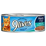 9Lives Meaty Paté With Real Chicken & Tuna