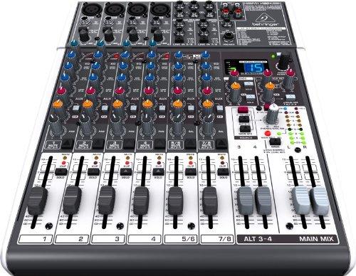 Behringer X1204Usb Xenyx Premium 12-Input Mixer And Audio Interface