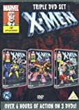 X-Men Triple DVD Set Season Volume 1/2 Season 2 Volume 1