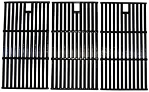 Music City Metals 65223 Gloss Cast Iron Cooking Grid Replacement For Select Gas Grill Models By Brinkmann Charmglow And Others Set Of 3 from Music City Metals