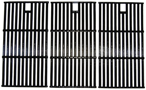 Best Buy! Music City Metals 65223 Gloss Cast Iron Cooking Grid Replacement for Select Gas Grill Mode...