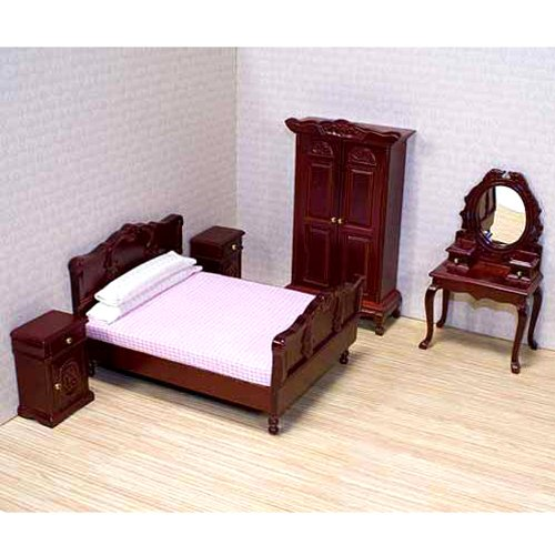 Melissa and doug dollhouse furniture for Melissa and doug bedroom furniture