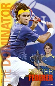 Roger Federer Poster Print, 22x34