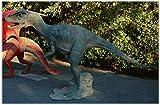 Allosaurus T-Rex Dinosaur Giant Statue, Big Life Size Sculpture, Jurassic Park