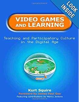 Video Games and Learning (book cover)