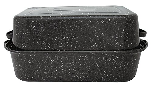 Granite Ware 0511-3 21.25 by 14 by 8.5-Inch Covered Rectangular Roaster