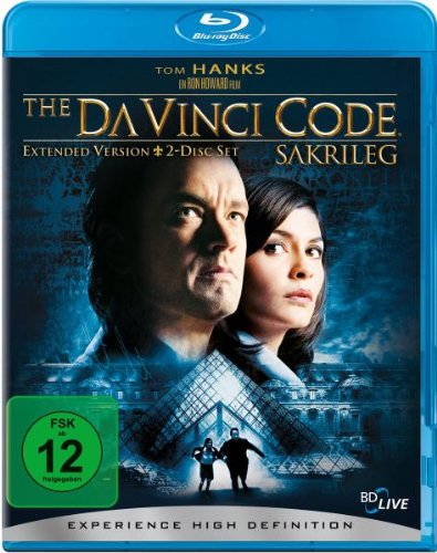 The Da Vinci Code - Sakrileg - Extended Version [Blu-ray]