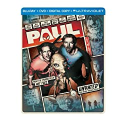 Paul (Steelbook) (Blu-ray + DVD + Digital Copy + UltraViolet)