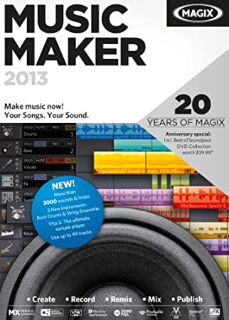MAGIX Music Maker 2013 [Download]