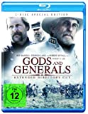 DVD Cover 'Gods and Generals - Extended Cut [Blu-ray] [Director's Cut] [Special Edition]