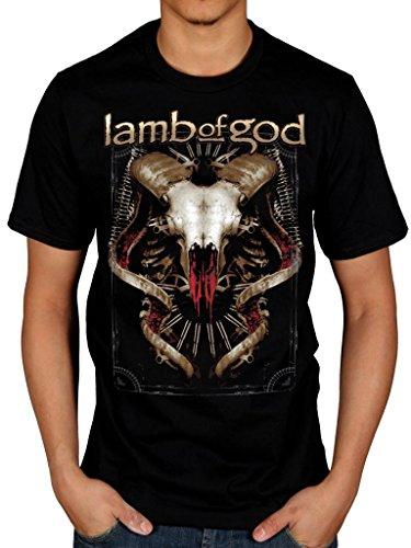 "Official Lamb of God-Steer ""American Metal nero X-Large"